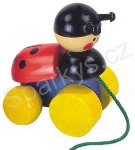 Detoa Tahací hračky - beruška cena od 85 Kč