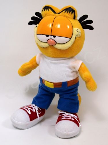 Moravská ústředna Garfield 23 cm jeans cena od 0 Kč
