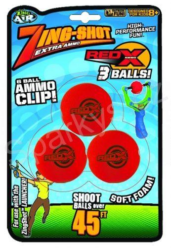 ZING - náhradní míčky do Prakostřelu