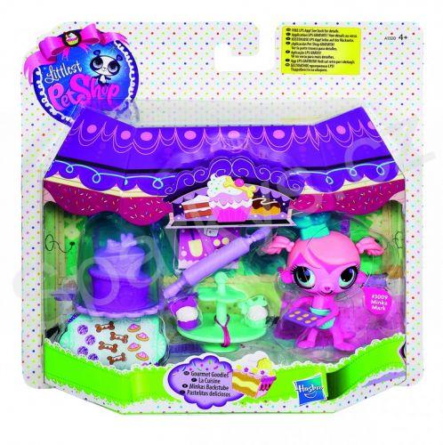 Hasbro Littlest Pet Shop A1319 - Sladká zvířátka s pohybem cena od 199 Kč