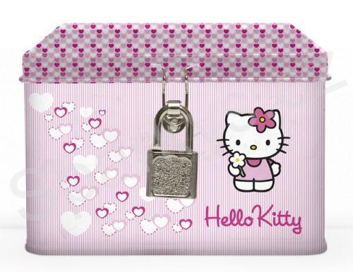 Karton P+P Hello Kitty - Pokladnička plechová cena od 149 Kč