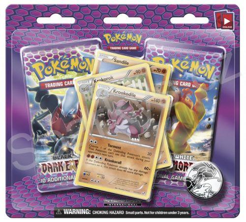 Pokémon Company: Pokémon: BW5 Dark Explorers - 2 Pack Blisters(1/24) cena od 116 Kč