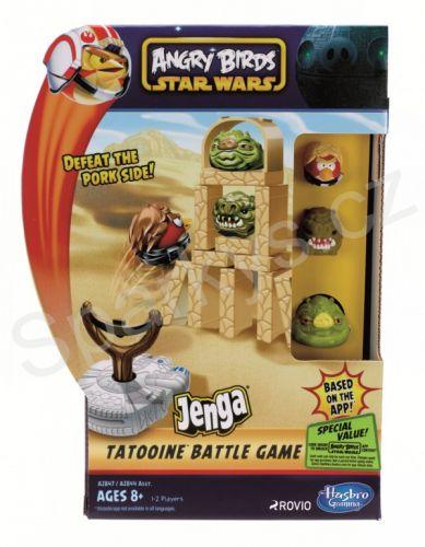 Hasbro Angry Birds STAR WARS A2844 - JENGA cena od 247 Kč