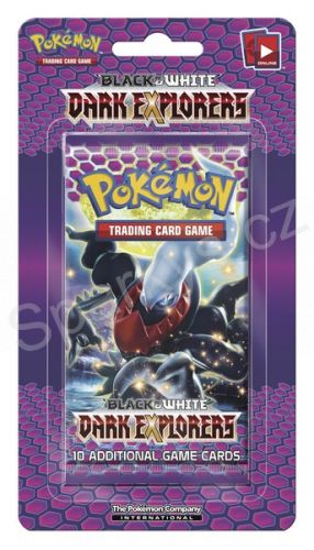 Pokémon Company: Pokémon:: BW5 Dark Explorers - 1 Blister Boo (24) cena od 86 Kč