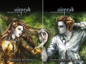 Stephenie Meyer Súmrak Grafický román I. a II.diel cena od 482 Kč