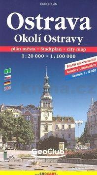 Ostrava a okolí/mapa 1:20T,1:100T cena od 79 Kč