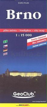 Brno/plán-centrum 1:15T cena od 43 Kč