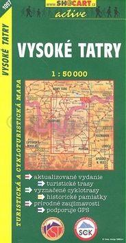 Vysoké Tatry 1:50 000 cena od 85 Kč