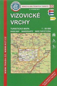 KČT 93 Vizovické vrchy cena od 99 Kč