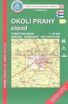 KČT 36 Okolí Prahy západ cena od 99 Kč