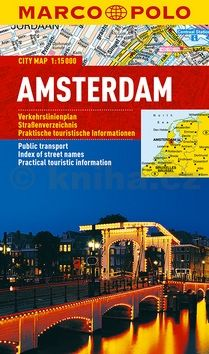 Amsterdam - lamino MD 1:15 000 cena od 127 Kč