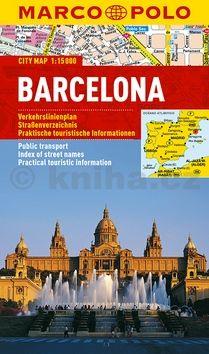 Barcelona - lamino MD 1:15 000 cena od 128 Kč