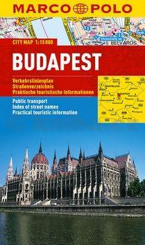 Budapešť - lamino MD 1:15 000 cena od 120 Kč