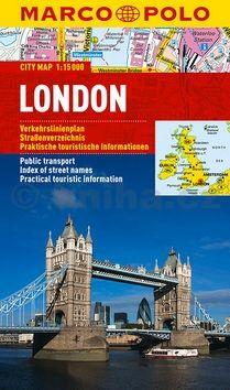 Londýn - lamino MD 1:15 000 cena od 160 Kč