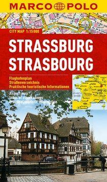 Štrasburg - lamino MD 1:15 000 cena od 129 Kč