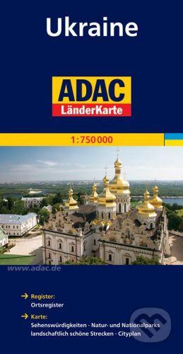 Ukrajina 1:750 000 cena od 160 Kč