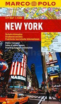 New York - lamino MD 1:15 000 cena od 160 Kč