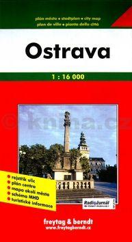 Ostrava Plán města cena od 0 Kč