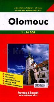Olomouc Plán města 1:16 000 cena od 0 Kč
