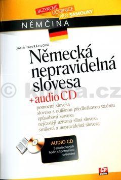 Jana Navrátilová: Německá nepravidelná slovesa + audio CD cena od 233 Kč