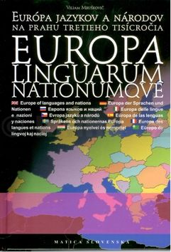 Viliam Mruškovič: Europa linguarum nationumqve cena od 322 Kč