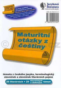 Maturitní otázky z češtiny cena od 128 Kč