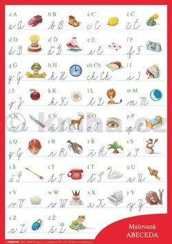 Malovaná abeceda cena od 26 Kč