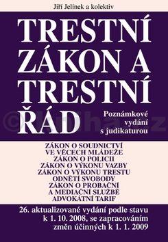 Jiří Jelínek Trestní zákon a trestní řád cena od 938 Kč