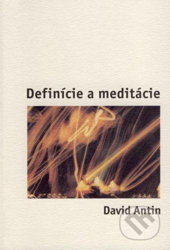 Drewo a srd Definície a meditácie - David Antin cena od 71 Kč