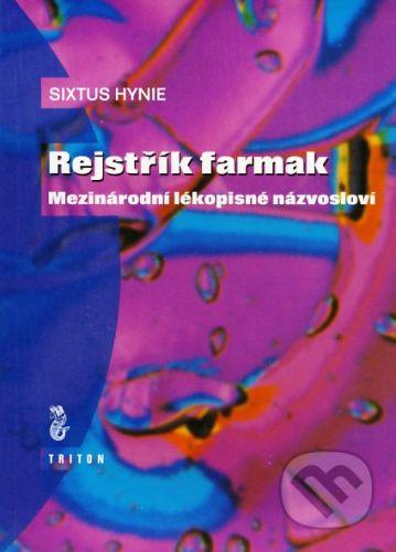Sixtus Hynie: Rejstřík farmak cena od 36 Kč