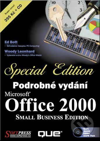 SoftPress Microsoft Office 2000 SBE - podrobné vydání - Ed Bott, Woody Leonhard cena od 173 Kč