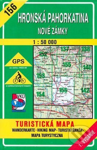 VKÚ Harmanec Hronská pahorkatina - Nové Zámky - turistická mapa č. 156 - Kolektív autorov cena od 84 Kč