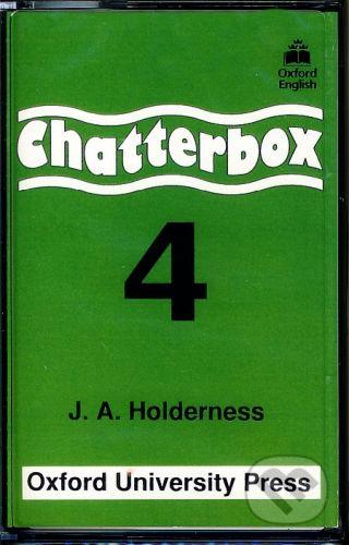 Oxford University Press Chatterbox 4 - Cassette - Jackie Holderness cena od 251 Kč