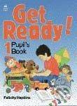 Oxford University Press Get Ready! 1- Pupil's Book - Felicity Hopkins cena od 213 Kč