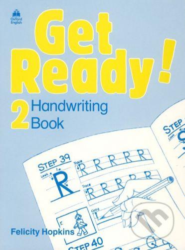 Oxford University Press Get Ready! 2 - Handwriting Book - Felicity Hopkins cena od 110 Kč