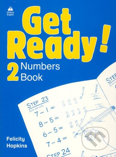 Oxford University Press Get Ready! 2 - Numbers Book - Felicity Hopkins cena od 110 Kč