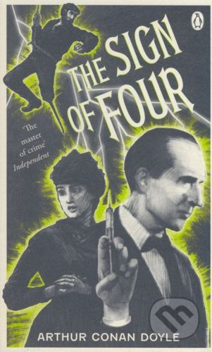 Penguin Books The Sign of Four - Arthur Conan Doyle cena od 190 Kč