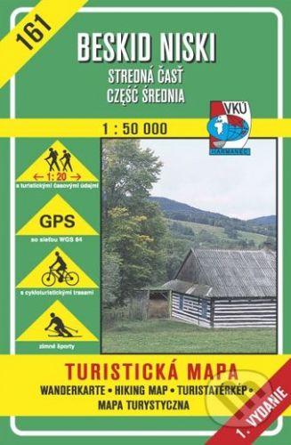 VKÚ Harmanec Beskid Niski, (Cześć srodkowa - stredná časť) - turistická mapa č.161 - Kolektív autorov cena od 93 Kč