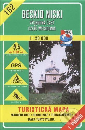 VKÚ Harmanec Beskid Niski, (Cześć wschodnia - vých.časť) - turistická mapa č. 162 - Kolektív autorov cena od 93 Kč