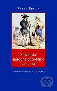 Kalligram Slovenské národné obrodenie - Peter Brock cena od 0 Kč