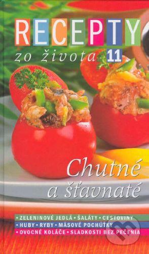 RINGIER Slovakia Recepty zo života 11 - Kolektív autorov cena od 229 Kč