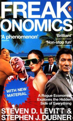 Levitt Dubner: Freakonomics (revised) cena od 156 Kč