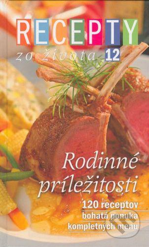 RINGIER Slovakia Recepty zo Života 12 - Kolektív autorov cena od 234 Kč