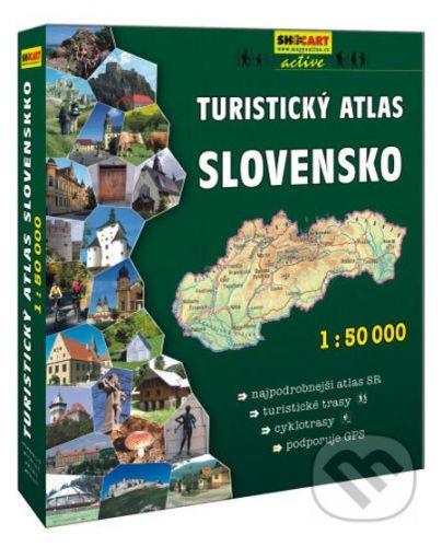 SHOCart Turistický atlas SLOVENSKO 1:50 000 -