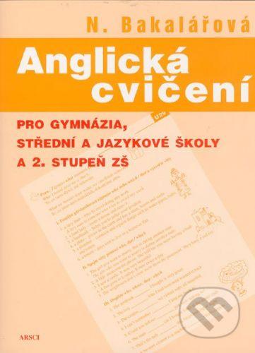Natálie Bakalářová: Anglická cvičení cena od 250 Kč