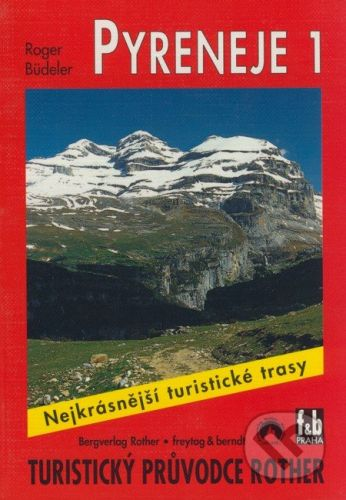 freytag&berndt Pyreneje 1 - Roger Büdeler cena od 176 Kč