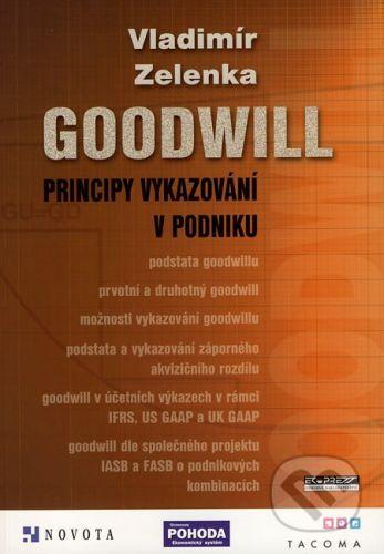 Ekopress Goodwill - principy vykazování v podniku - Vladimír Zelenka cena od 285 Kč