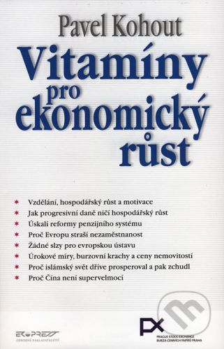 Ekopress Vitamíny pro ekonomický růst - Pavel Kohout cena od 363 Kč