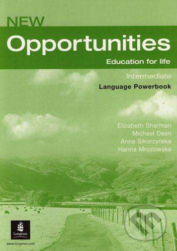 Pearson New Opportunities - Intermediate - Language Powerbook - Elizabeth Sharman a kol. cena od 221 Kč