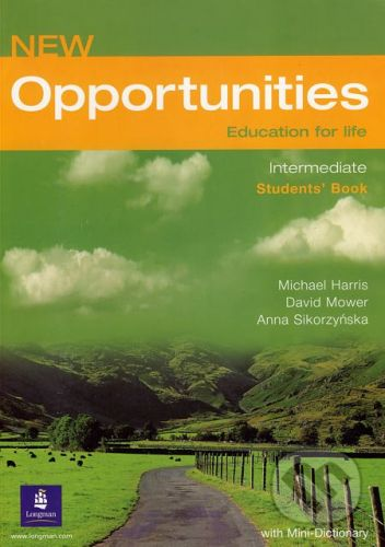 Longman New Opportunities - Intermediate - Students´ Book - Michael Harris, David Mower, Anna Sikorzyńska cena od 409 Kč